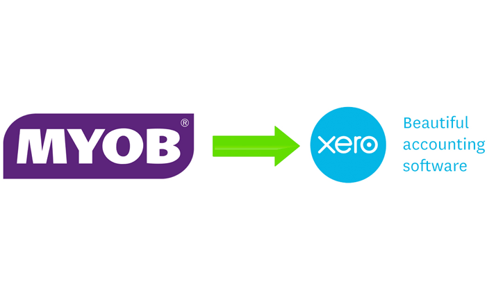 Switch from MYOB to Xero